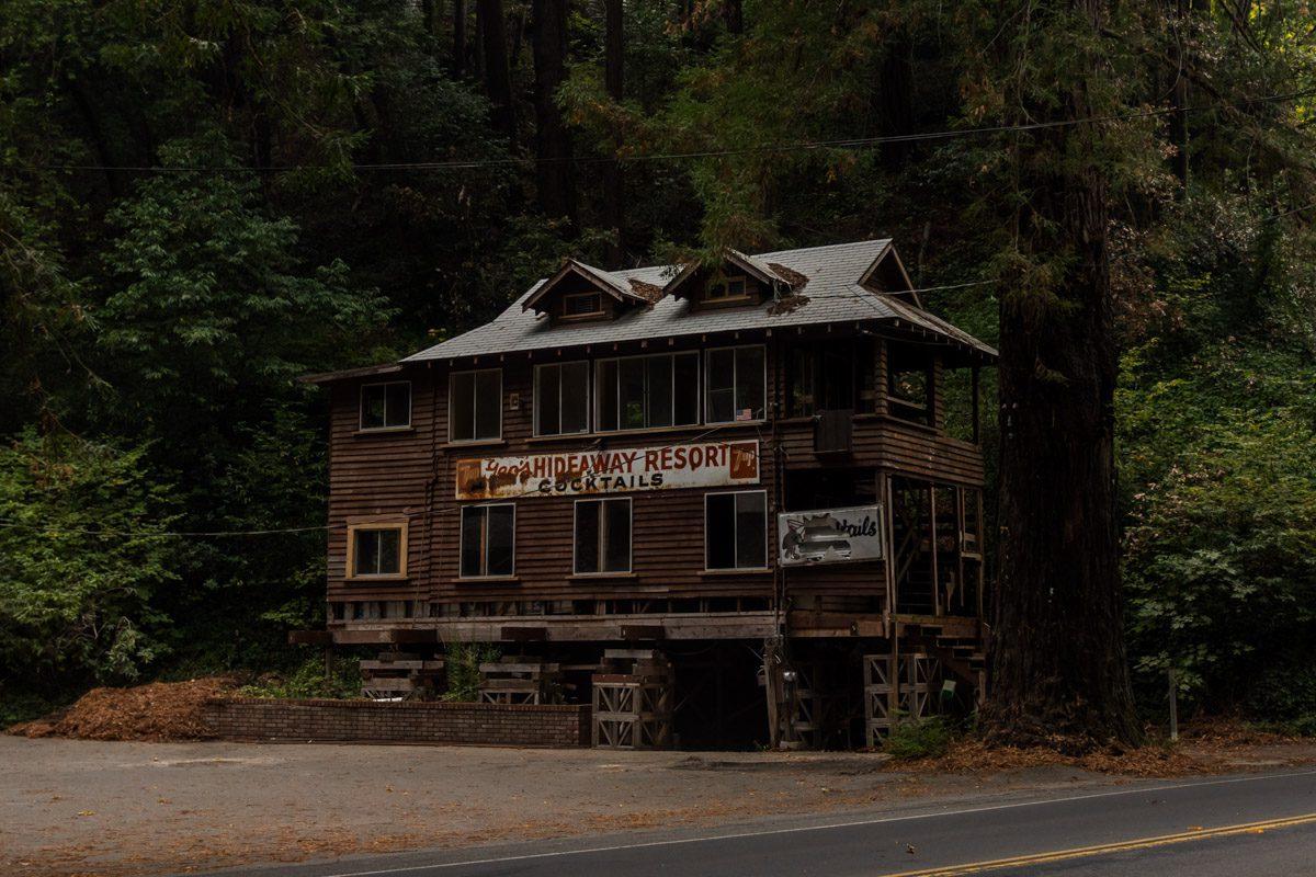 Заброшенный дом в США